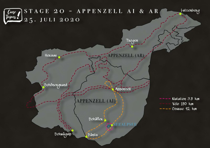 Parcours Appenzell