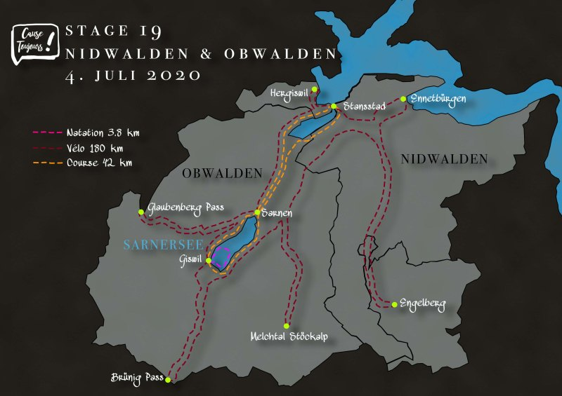 Parcours Nidwalden/Obwalden