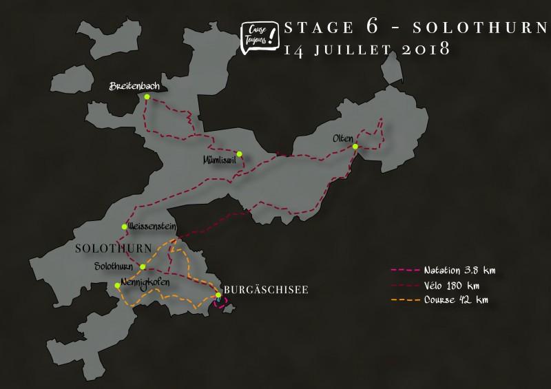 Strecke Solothurn