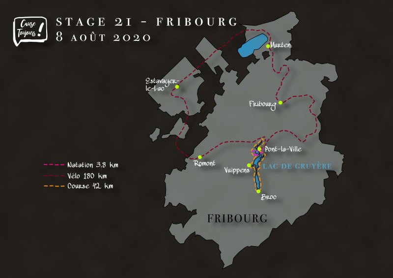 Parcours Fribourg