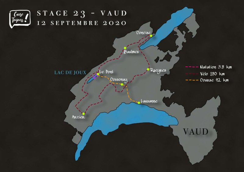 Parcours Vaud
